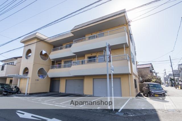 静岡県焼津市、焼津駅徒歩6分の築27年 3階建の賃貸マンション