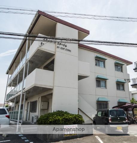 静岡県焼津市、焼津駅徒歩21分の築23年 3階建の賃貸マンション