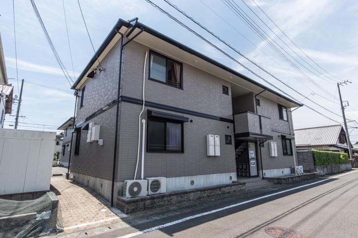 静岡県焼津市、焼津駅徒歩11分の築17年 2階建の賃貸アパート