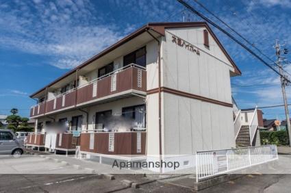 静岡県焼津市、焼津駅静岡鉄道バスバス18分静岡福祉大下車後徒歩6分の築25年 2階建の賃貸アパート