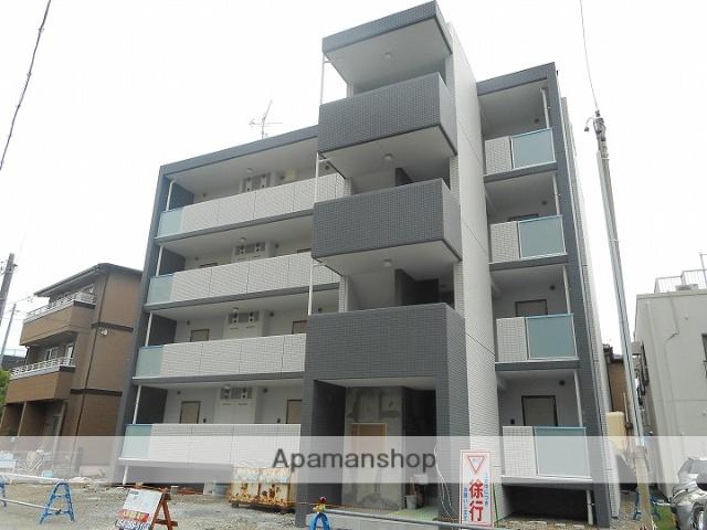 静岡県焼津市、焼津駅徒歩4分の新築 4階建の賃貸マンション