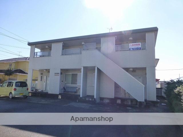 静岡県焼津市の築25年 2階建の賃貸アパート