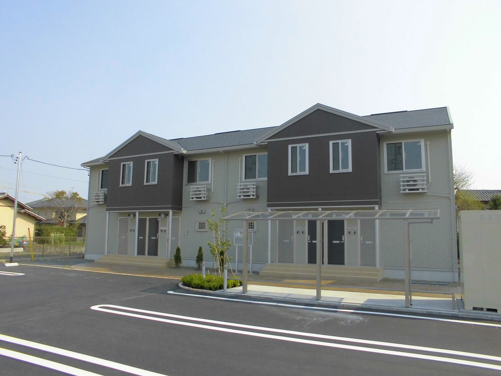 静岡県焼津市、西焼津駅徒歩20分の築3年 2階建の賃貸アパート