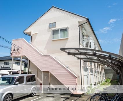 静岡県焼津市、焼津駅徒歩10分の築25年 2階建の賃貸アパート