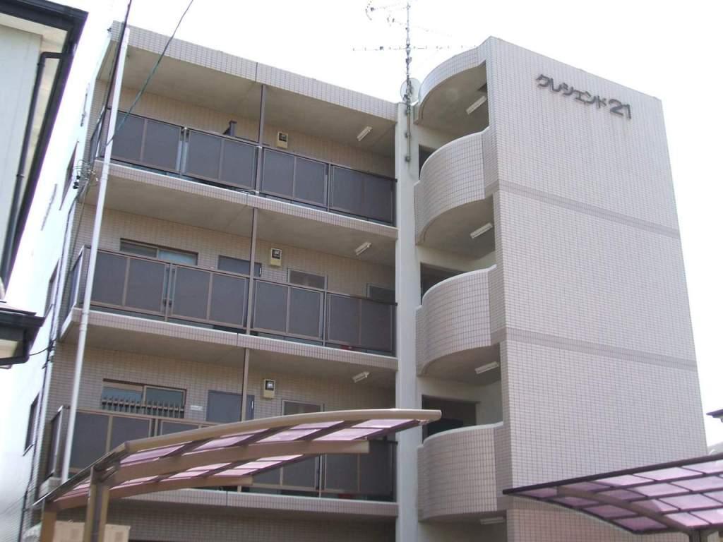 静岡県浜松市中区、浜松駅徒歩4分の築20年 4階建の賃貸マンション