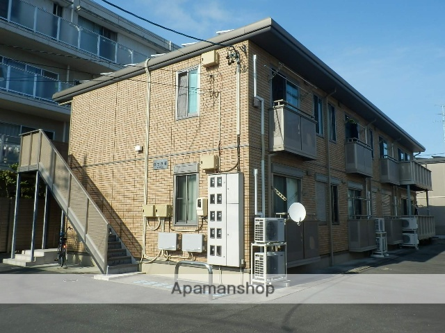 静岡県浜松市中区、浜松駅徒歩19分の築9年 2階建の賃貸アパート