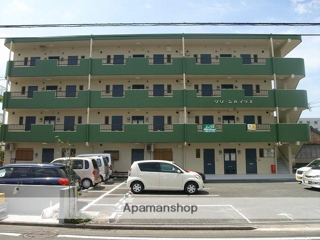 静岡県浜松市中区、八幡駅徒歩14分の築30年 4階建の賃貸マンション