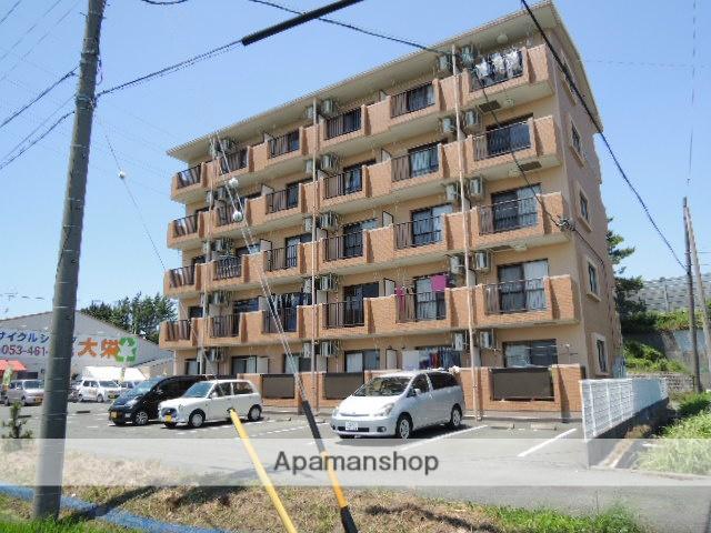 静岡県浜松市東区、自動車学校前駅徒歩15分の築15年 5階建の賃貸マンション