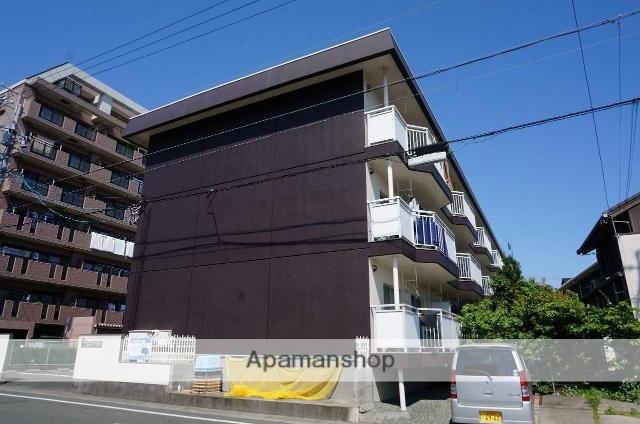 静岡県浜松市中区、曳馬駅徒歩28分の築34年 3階建の賃貸マンション