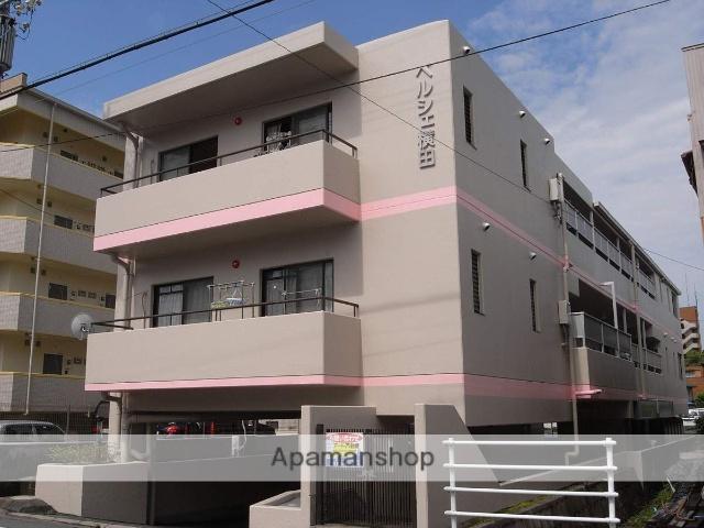 静岡県浜松市中区、八幡駅徒歩7分の築24年 3階建の賃貸マンション