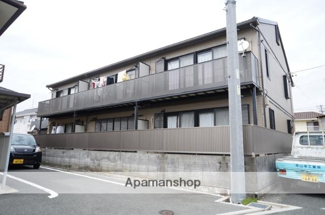 静岡県浜松市中区、八幡駅徒歩17分の築17年 2階建の賃貸アパート