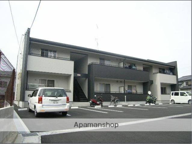 静岡県浜松市中区、浜松駅遠鉄バスバス30分馬舟下車後徒歩2分の築7年 2階建の賃貸アパート