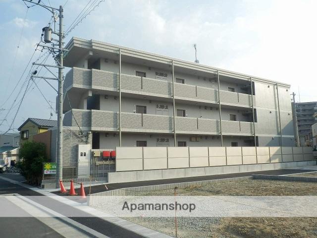 静岡県浜松市浜北区、浜北駅徒歩9分の築2年 3階建の賃貸マンション