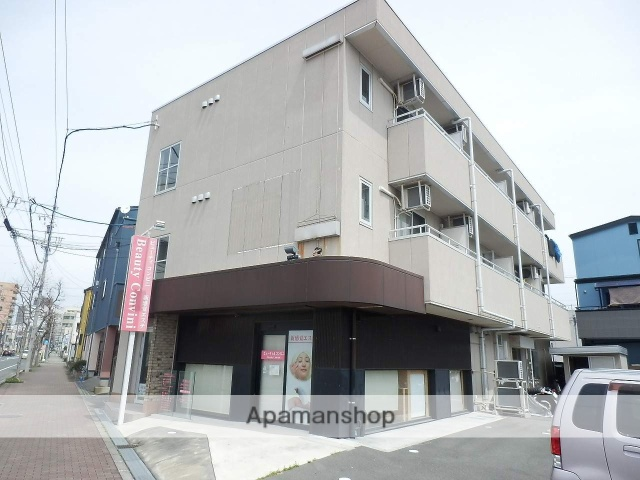 静岡県浜松市中区、浜松駅徒歩11分の築14年 3階建の賃貸マンション