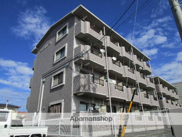 静岡県浜松市東区、天竜川駅徒歩19分の築19年 4階建の賃貸マンション