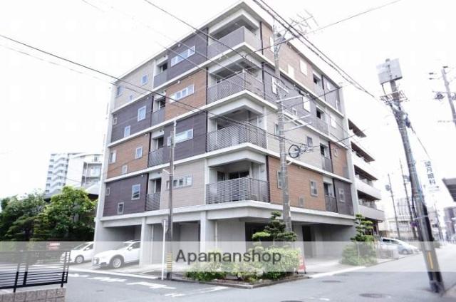 静岡県浜松市中区、浜松駅徒歩11分の築4年 5階建の賃貸マンション