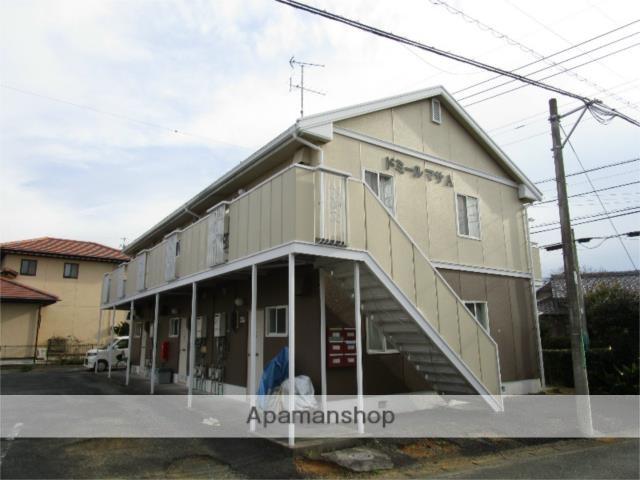 静岡県浜松市中区、浜松駅バス20分萩丘小学校下車後徒歩3分の築27年 2階建の賃貸アパート