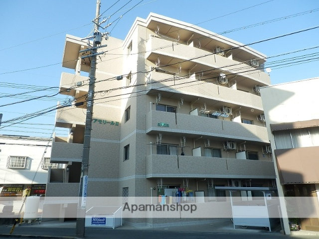 静岡県浜松市中区、第一通り駅徒歩17分の築6年 5階建の賃貸マンション
