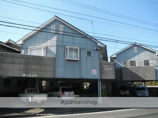 静岡県浜松市中区、曳馬駅徒歩30分の築21年 2階建の賃貸アパート