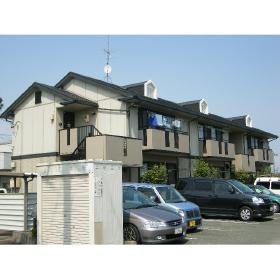 静岡県浜松市東区、上島駅徒歩18分の築19年 2階建の賃貸アパート