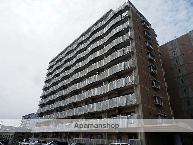 静岡県浜松市中区、浜松駅徒歩19分の築22年 10階建の賃貸マンション