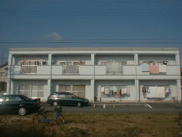 静岡県浜松市中区、浜松駅遠鉄バスバス23分和合住宅入口下車後徒歩10分の築28年 2階建の賃貸アパート
