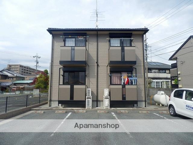 静岡県浜松市浜北区、遠州小松駅徒歩20分の築15年 2階建の賃貸アパート
