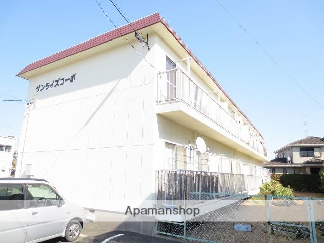 静岡県浜松市中区、浜松駅遠州鉄道バスバス15分高林下車後徒歩2分の築32年 2階建の賃貸アパート