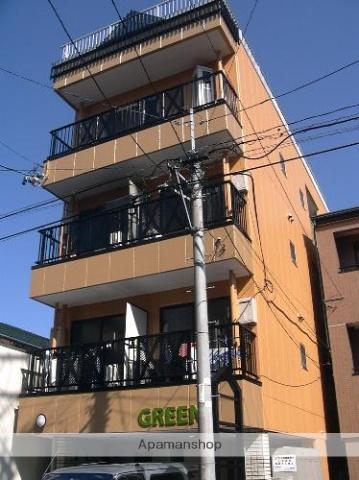 静岡県浜松市中区、新浜松駅徒歩12分の築23年 4階建の賃貸アパート