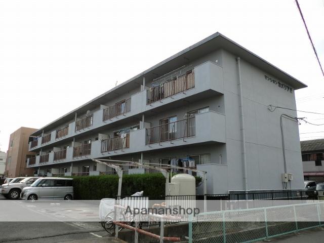 静岡県浜松市東区、天竜川駅徒歩8分の築34年 3階建の賃貸マンション