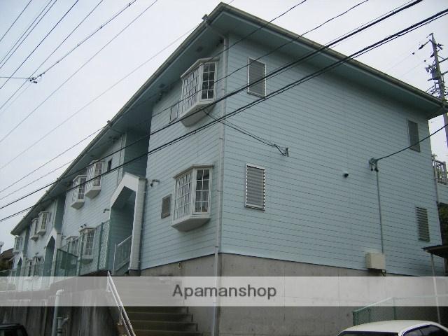 静岡県浜松市中区、浜松駅徒歩52分の築28年 2階建の賃貸アパート