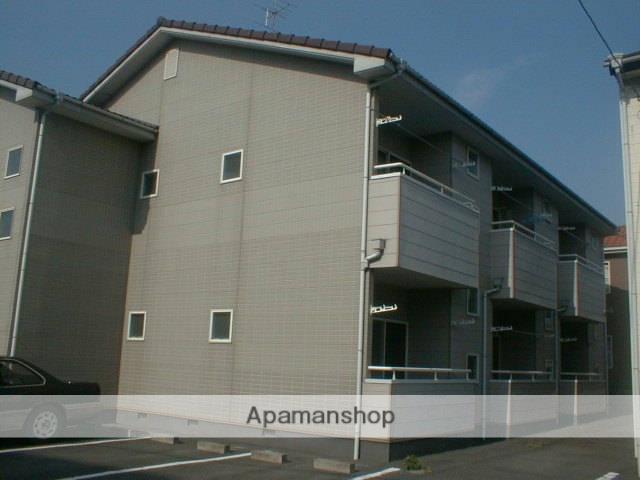 静岡県浜松市中区、浜松駅遠鉄バスバス20分葵町東下車後徒歩3分の築23年 2階建の賃貸アパート