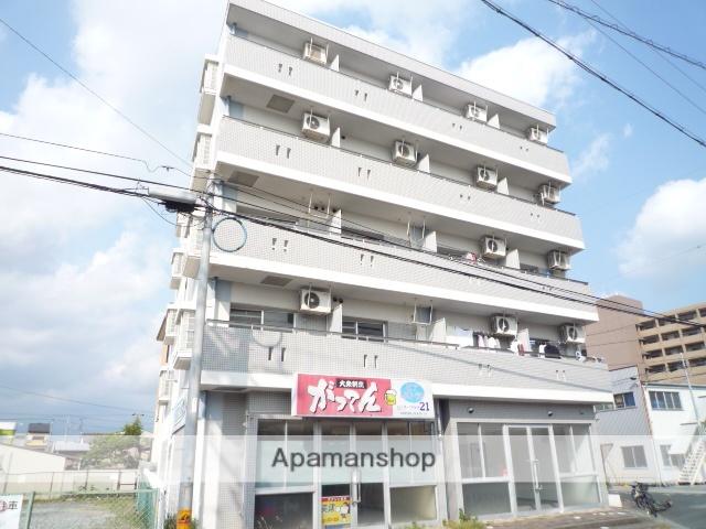 静岡県浜松市浜北区、遠州小松駅徒歩14分の築24年 5階建の賃貸マンション