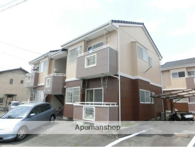 静岡県浜松市東区、浜松駅遠鉄バスバス20分上前島下車後徒歩10分の築22年 2階建の賃貸アパート