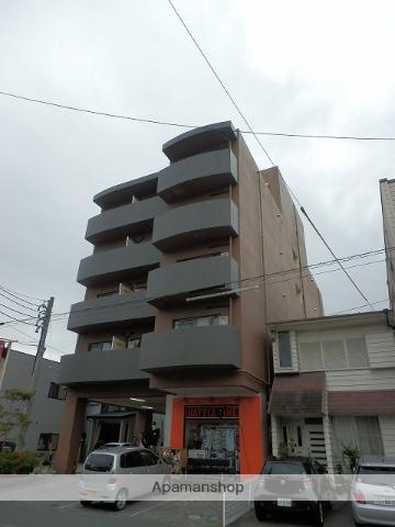 静岡県浜松市中区、第一通り駅徒歩11分の築21年 5階建の賃貸マンション