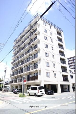 静岡県浜松市中区、第一通り駅徒歩14分の築16年 9階建の賃貸マンション