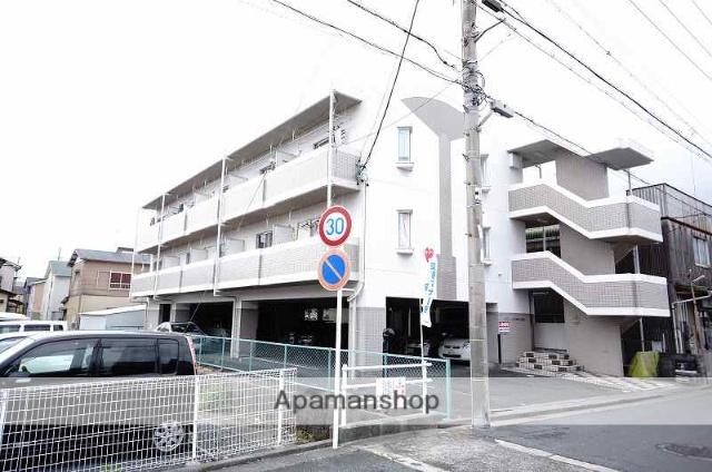 静岡県浜松市中区、浜松駅徒歩14分の築23年 3階建の賃貸マンション