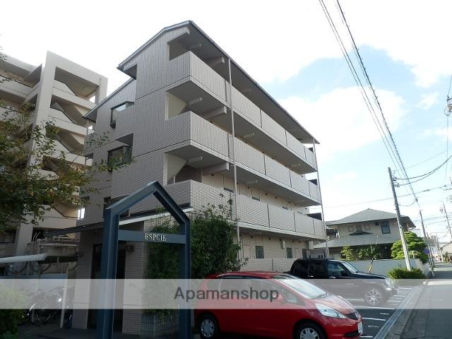 静岡県浜松市中区、浜松駅徒歩10分の築22年 4階建の賃貸マンション
