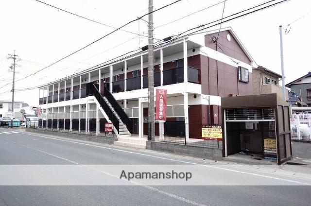 静岡県浜松市中区、浜松駅遠州鉄道バスバス10分森田南下車後徒歩1分の築15年 2階建の賃貸アパート