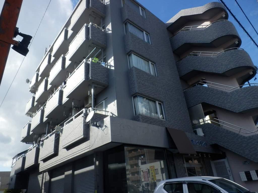 静岡県浜松市中区、浜松駅バス35分葵町下車後徒歩1分の築30年 5階建の賃貸マンション