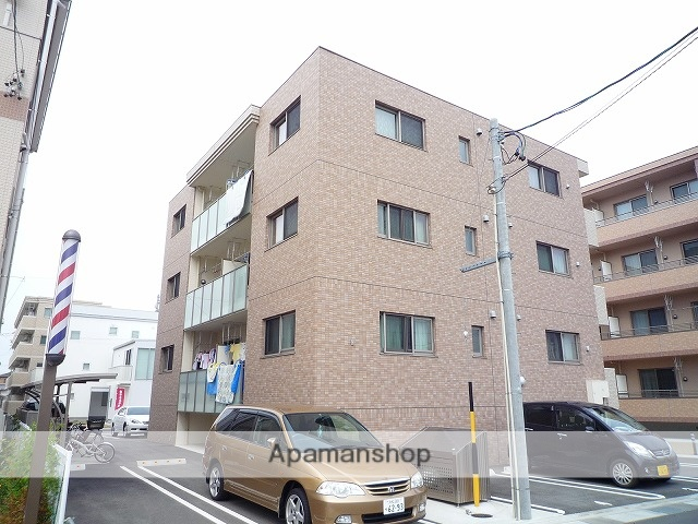 静岡県浜松市中区、浜松駅徒歩10分の築5年 3階建の賃貸マンション