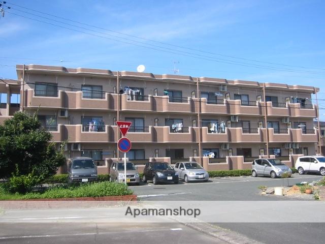 静岡県浜松市中区、曳馬駅徒歩17分の築22年 3階建の賃貸マンション