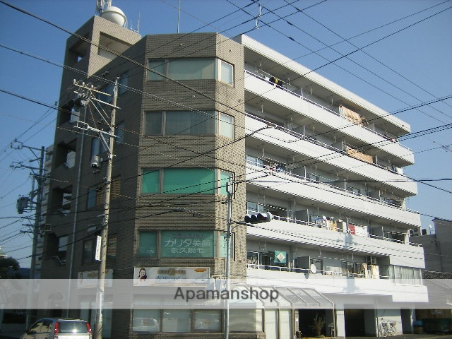 静岡県浜松市中区、浜松駅徒歩8分の築30年 6階建の賃貸マンション