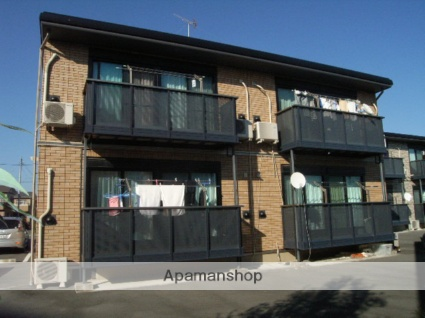静岡県浜松市東区、遠州西ヶ崎駅徒歩38分の築12年 2階建の賃貸アパート