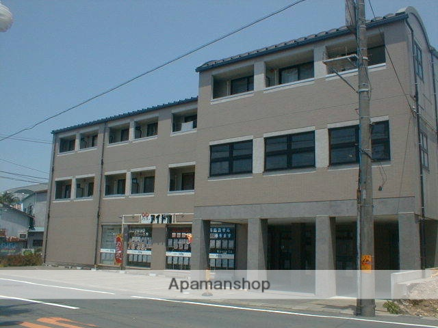 静岡県浜松市中区、第一通り駅徒歩24分の築23年 3階建の賃貸マンション