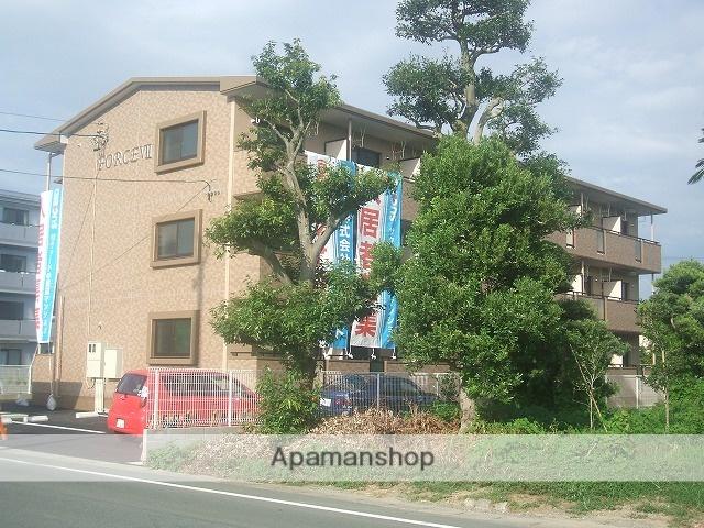 静岡県浜松市東区、浜松駅遠州鉄道バス43分浜松北病院下車後徒歩6分の築9年 3階建の賃貸マンション