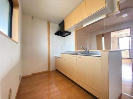 パラシオン旭C[2LDK/49.58m2]のキッチン