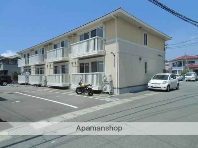 静岡県富士市、新富士駅富士急行バス15分社宅前下車後徒歩5分の築8年 2階建の賃貸アパート