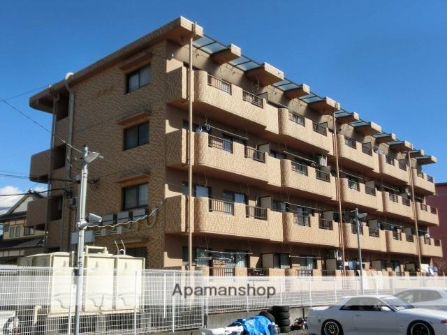 静岡県富士市、柚木駅徒歩1分の築21年 4階建の賃貸マンション