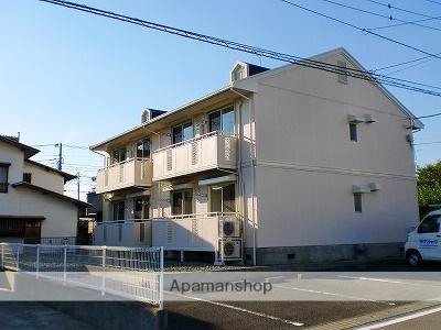 静岡県富士市、富士駅富士急行バス5分伝法1下車後徒歩9分の築24年 2階建の賃貸アパート